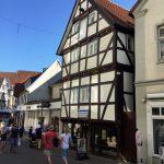 In der Fußgängerzone von Soest