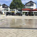 Möhnesee Optik Eckhoff Blick durch die Wasserspiele